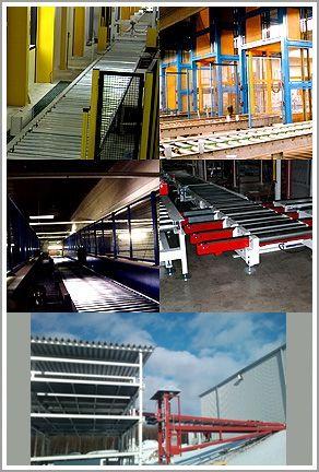 Fördersysteme für Transport und Warenverteilung